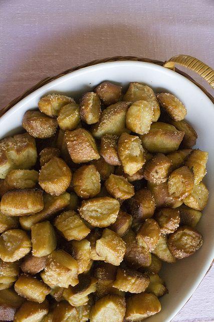 Adorkable Recipes: Homemade Soft Pretzel Bites Recipe