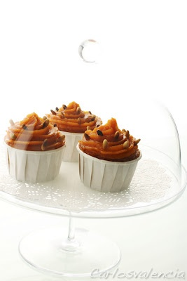 Pumpkin cupcakes | delicious Cupcakes & Muffins | Pinterest