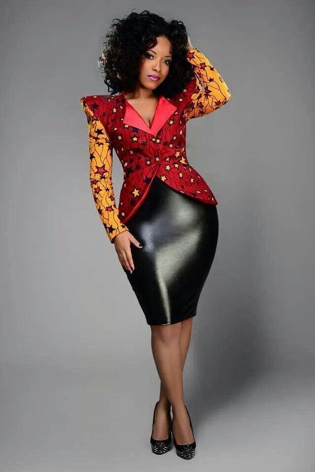 Lovely ankara jacket #ankara, AfricanFabric, #jacket