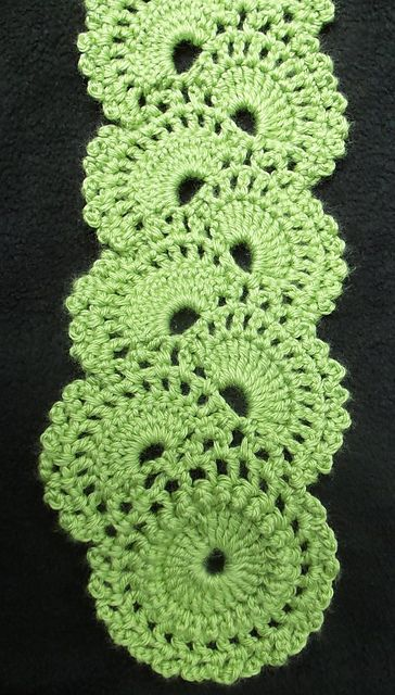 Queen Annes Lace Scarf pattern by Joyce Lewis