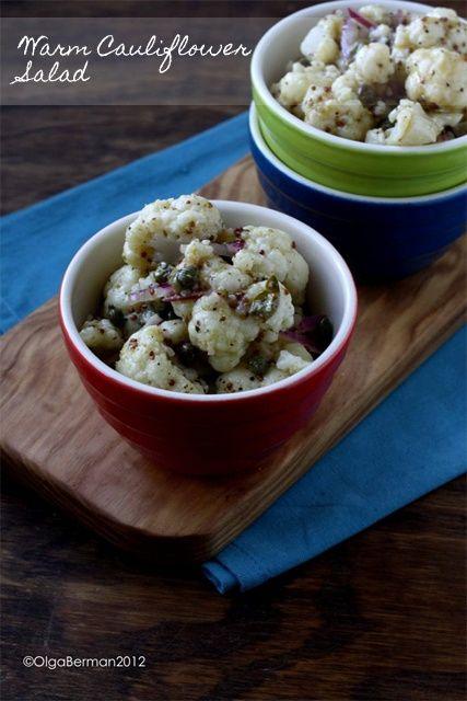 Warm Cauliflower Salad   Diet   Pinterest