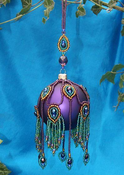 peacock ornament cover