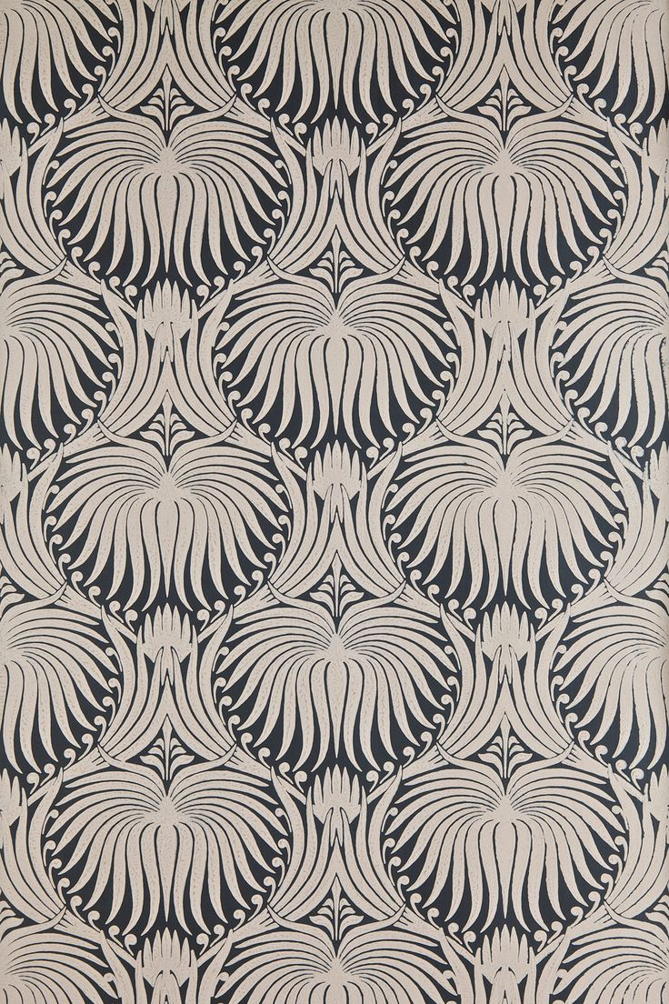 papier peint lotus paper farrow ball patterns textures pinterest. Black Bedroom Furniture Sets. Home Design Ideas