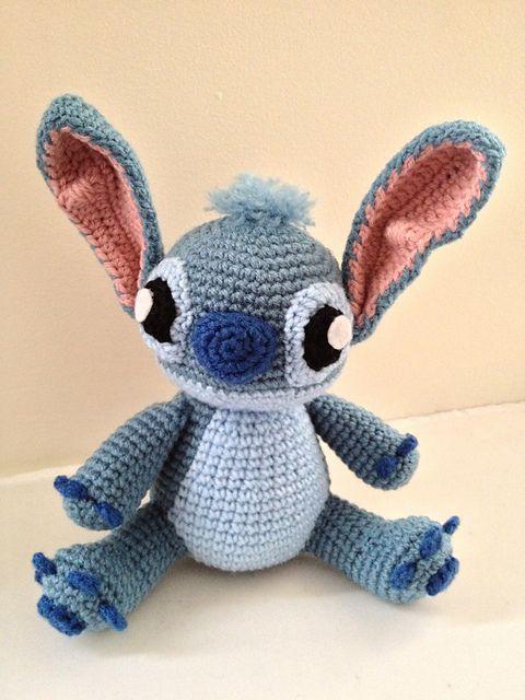 Amigurumi Stitch Free Pattern : Pin by Sherry Johnson on Amigurumi and Dolls Pinterest