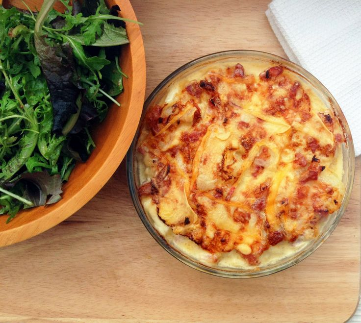 Bacon, Cheese And Onion Gratin For Under 3 Recipes — Dishmaps