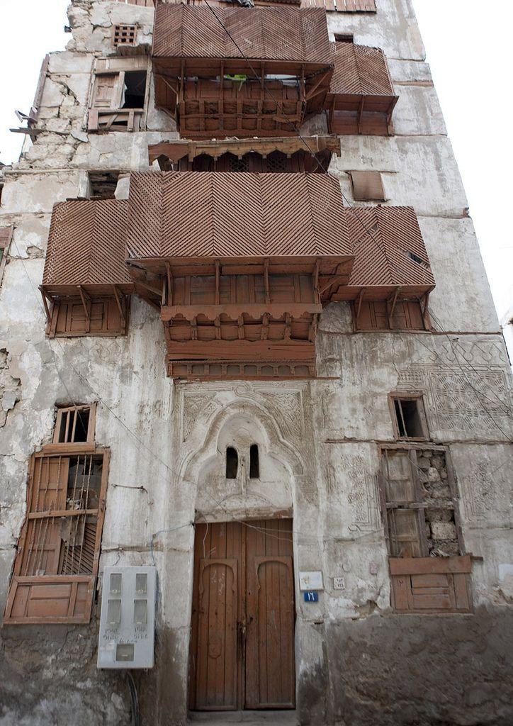 Old jeddah house saudi arabia housing 1 pinterest for Architecture arabe