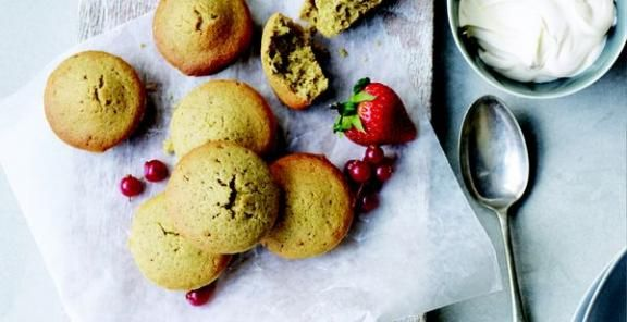 Brown Butter Pistachio Financiers Recipe