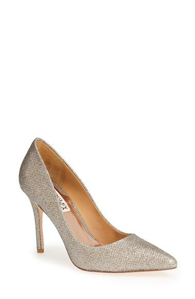 Badgley Mischka 'Luster' Pointy Toe Pump (Women) available at #Nordstrom