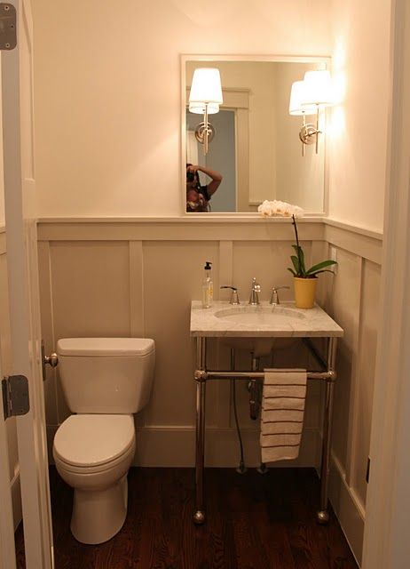 Wainscotting Bathrooms Pinterest