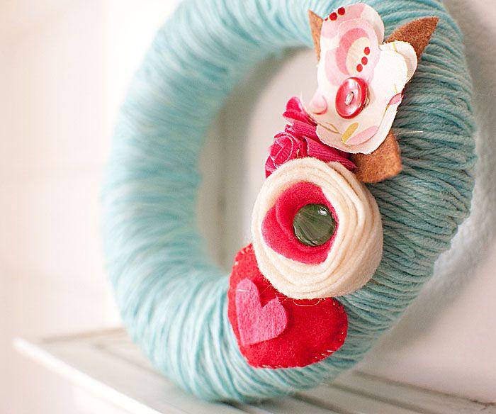 SO CUTE! I must make a spring wreath.
