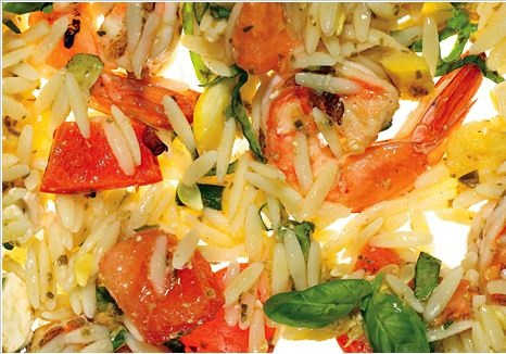 ... Orzo-with-Grilled-Shrimp-Summer-Vegetables-and-Pesto-Vinaigrette