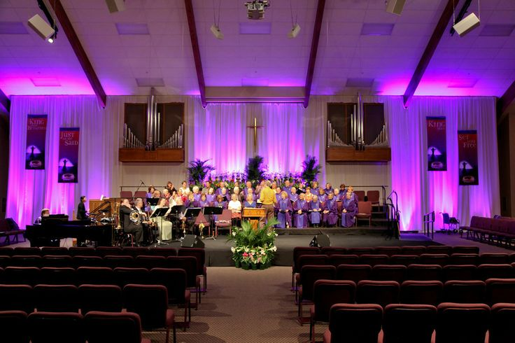 Easter Church Stage Ideas   Easter Decor   Pinterest