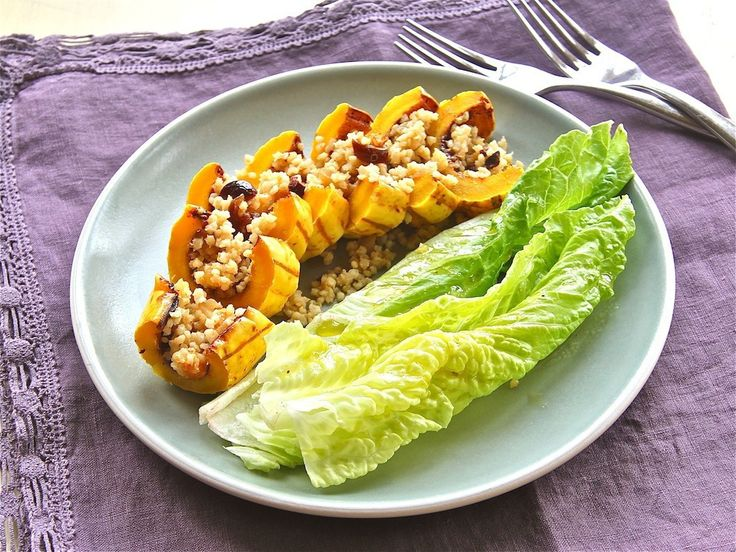 Gojee - Spicy Squash Boats With Fruity Quinoa Pilaf by The Wimpy ...