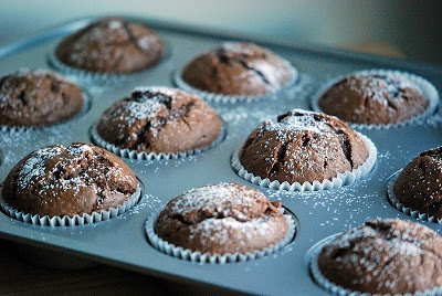Chocolate Yogurt Cakes | Mehans Kitchen | cakes and cupcakes | Pinter ...