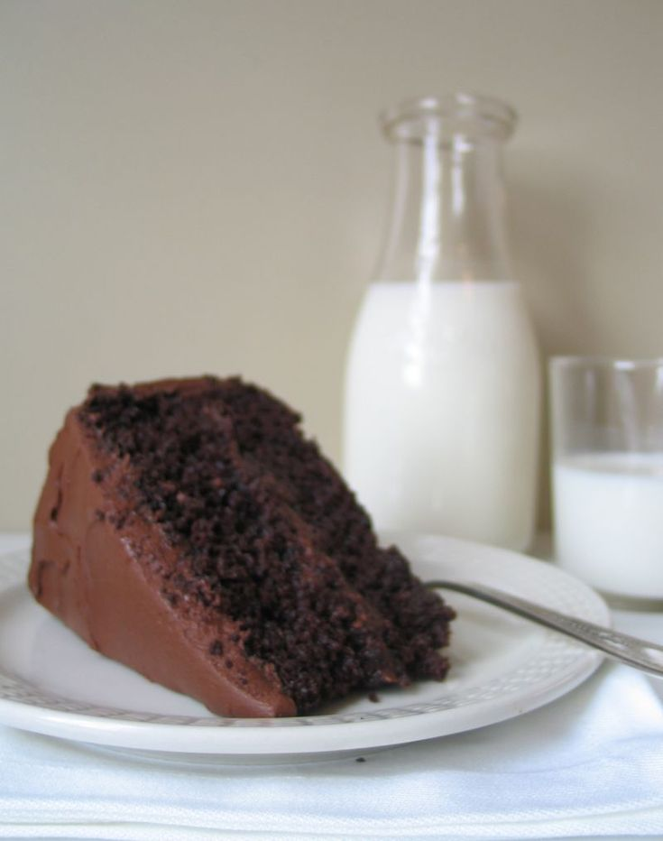 Hershey's Black Magic Cake with Fudge Frosting (recipe comparison to ...
