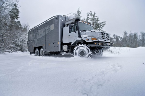 Mercedes Off-Road RV