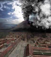 (6) 79 – 23 de Noviembre, erupción del volcán Vesubio que sepulto de Pompeya y Herculano