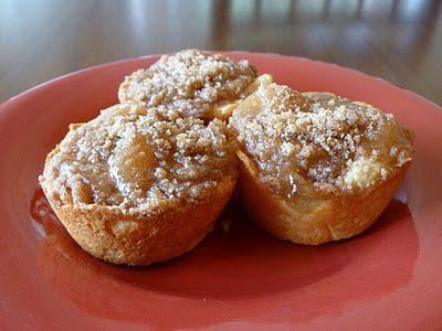 Easy Mini Apple Pies | Sweet n' easy | Pinterest