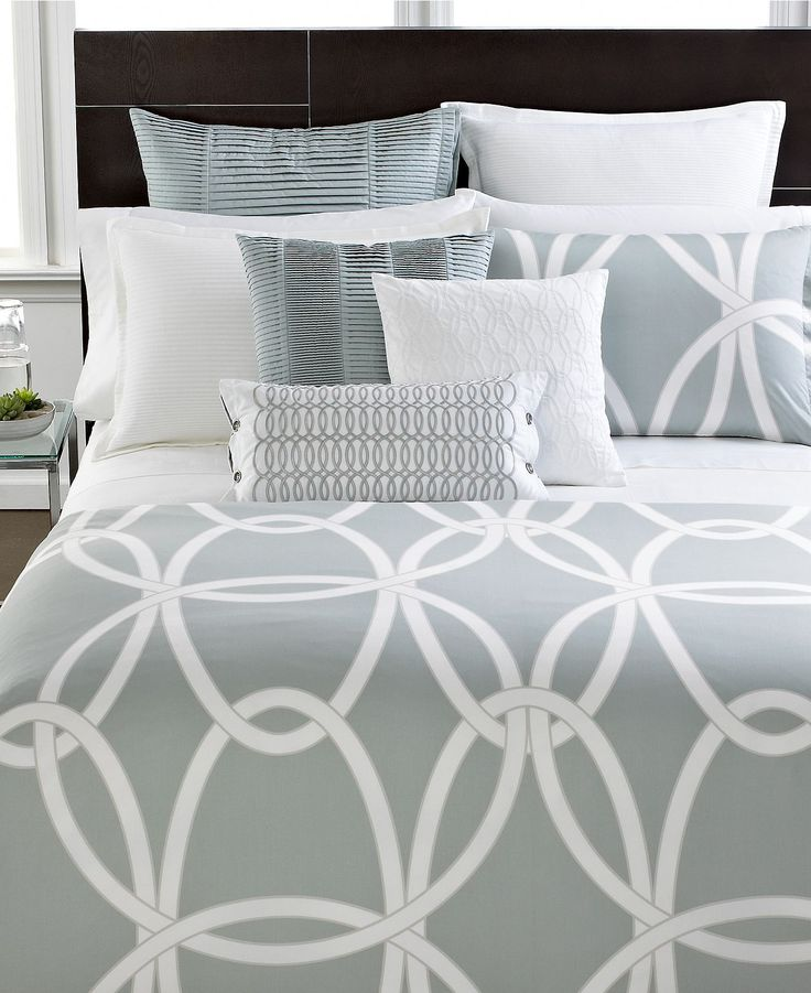 Hotel Collection Modern Gate King Duvet Cover
