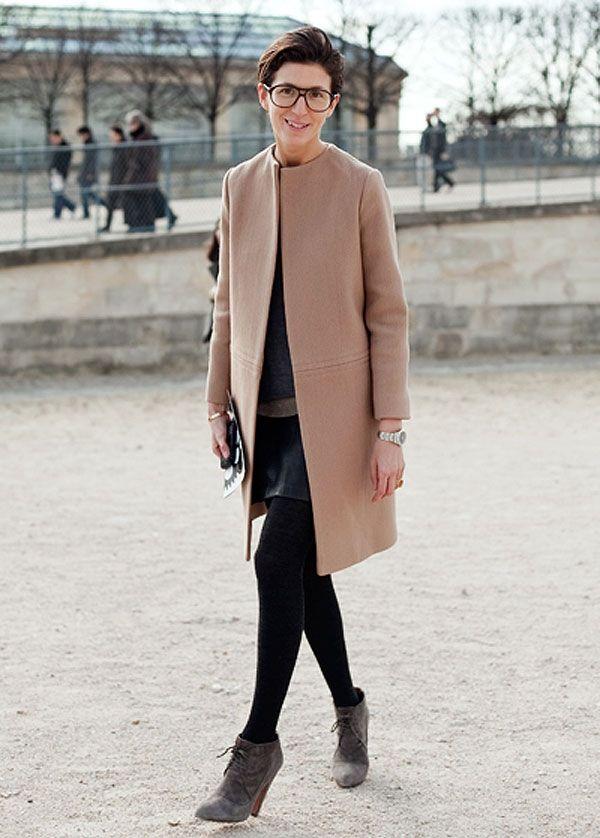 Celine's camel coat