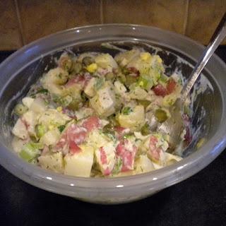 red potato salad three color potato salad rosanne cash s potato salad ...