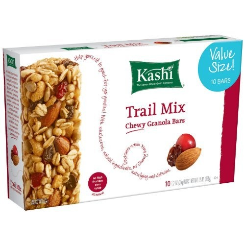 Kashi Chewy Granola Bar, Trail Mix, 12 Ounce by Kashi, http://www ...