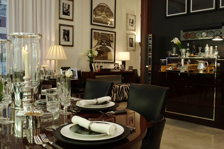 Dining room from ralph lauren home galerie 46 pinterest for Ralph lauren dining room ideas