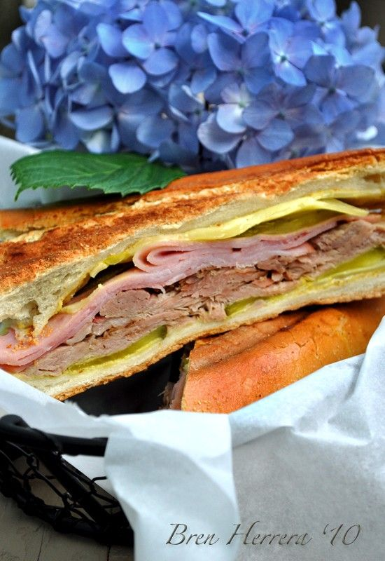 El Cubano - Cuban grilled sandwich | Food | Pinterest