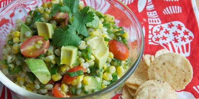 Summer Salads: Corn, Tomato, and Avocado | Food | Pinterest
