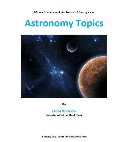 Astrophysics i search essays