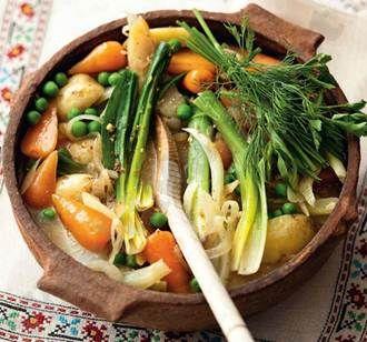 Spring vegetable stew | Soups | Pinterest