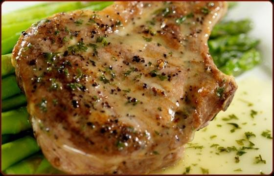 GRILLED CITRUS PORK CHOPS! * 1/4 C fresh lime juice, 2 T fresh orange ...