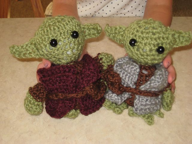 Ravelry: Little Yoda Crochet Tutorial pattern by Happy Together