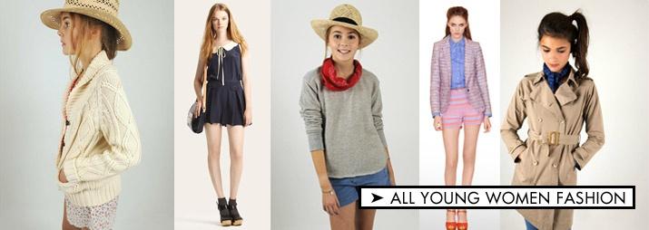 Young women fashion