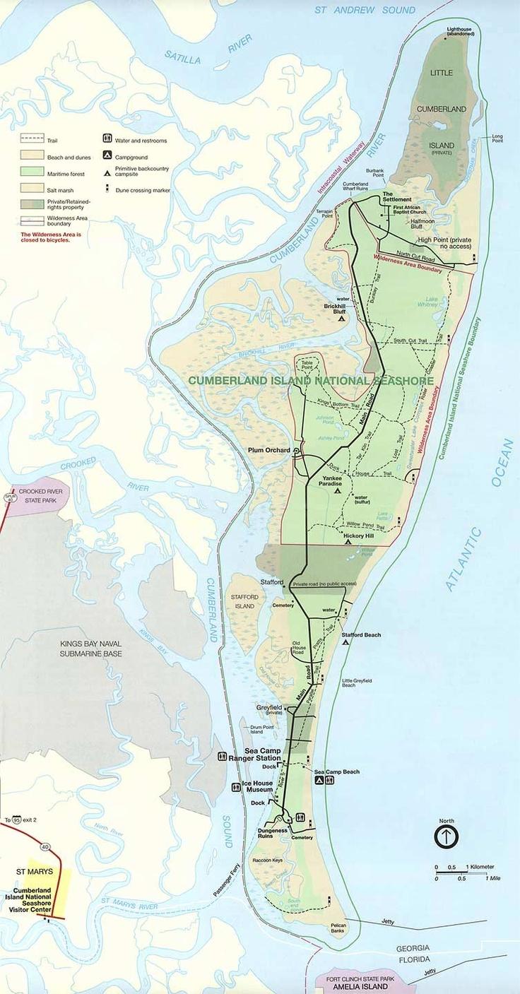 Maps Of Cumberland And Amelia Islands