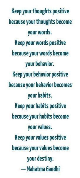 Gandhi's words..