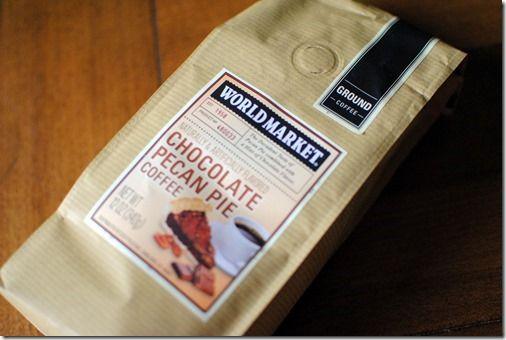 World Market Coffee - Chocolate pecan pie flavor