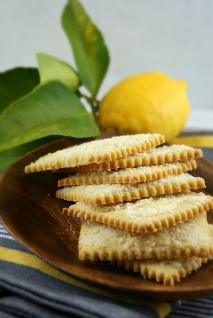 ... Suburban Gourmet: Lemon Scented Olive Oil Cookies | Secret Recipe Club