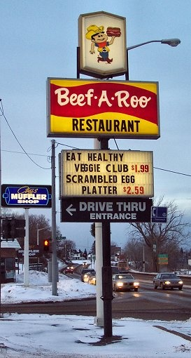 Beef-A-Roo Menu, Menu for Beef-A-Roo, Rockford. - Zomato
