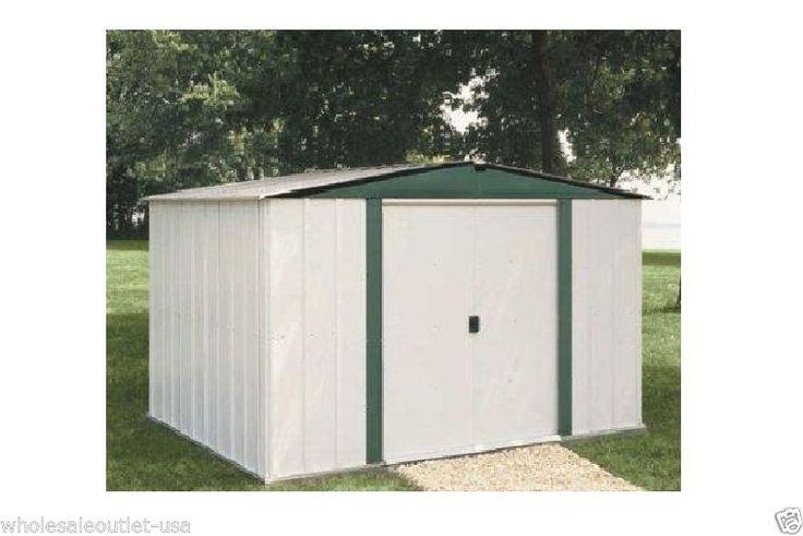arrow metal sheds 6 39 x 5 39 backyard garden shed kit