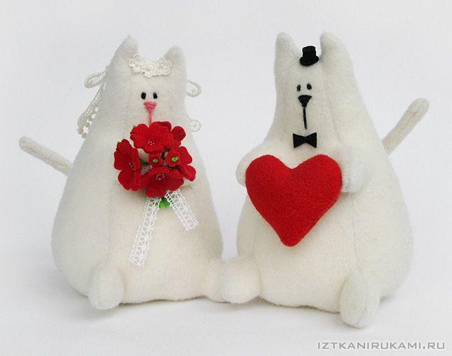 IzTkaniRukami (•_•) котики