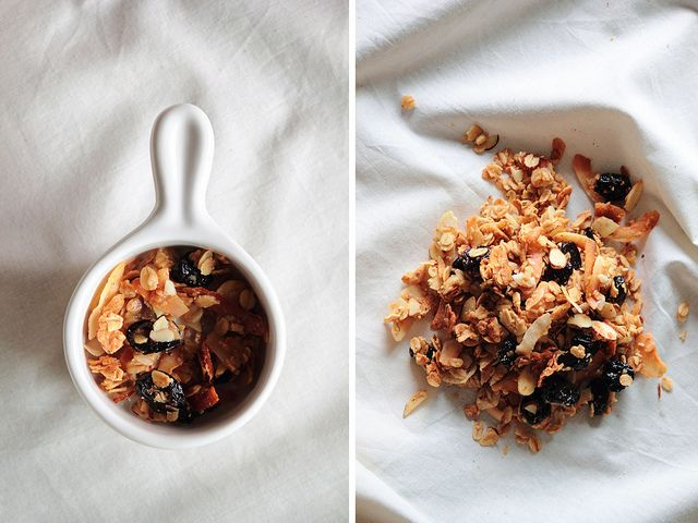 Cherry Almond Granola by pastryaffair, via Flickr
