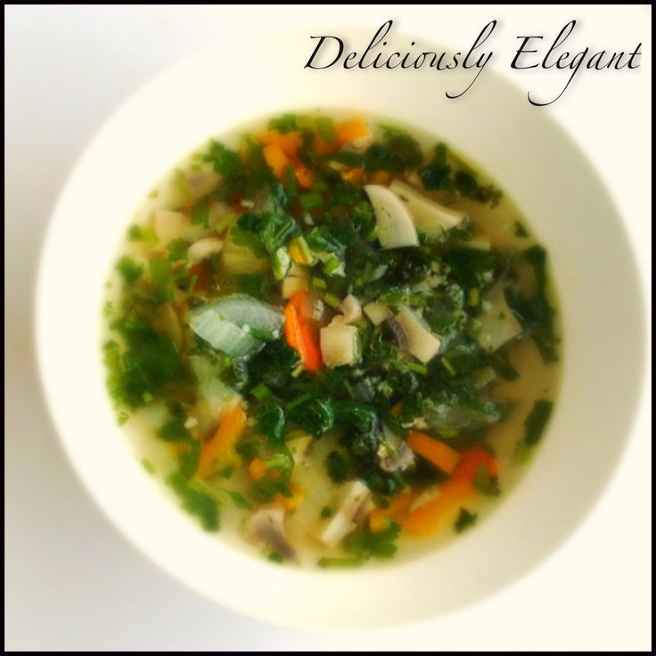Delicious Vegetable Soup