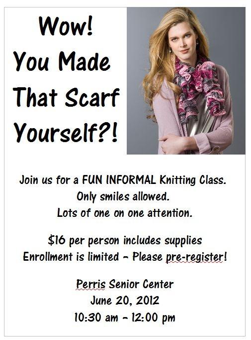Knitting Classes : Knitting Class Live Creatively Pinterest