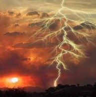 A lightning flash lasts only about 200 milliseconds and consists of 4 or 5 individual bolts.  The flicker you see in lightning is due to the individual bolts, which combine to make up the flash.