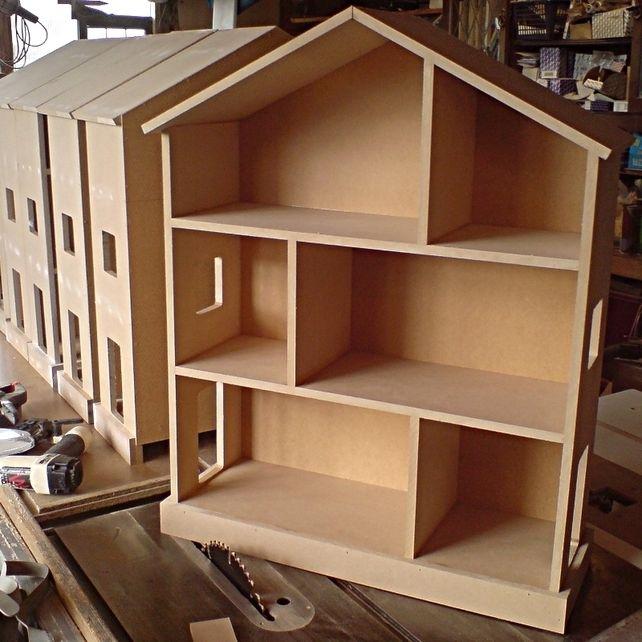 Кукольный домик из гипсокартона своими руками 146