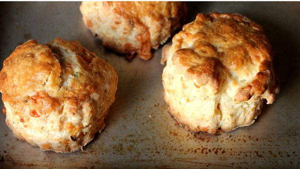 Cheddar jalapeño scones | The Food and Drink | Pinterest