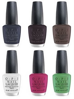 the matte collection for OPI