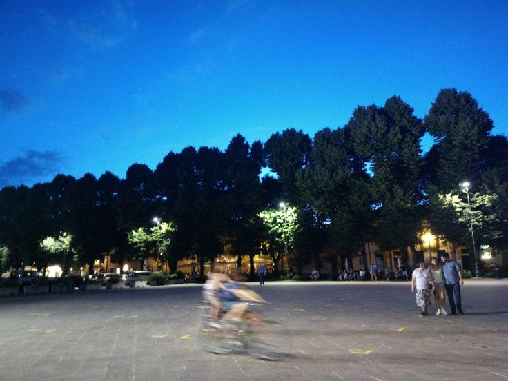 Bambini che giocano a Piazza San Zeno - Verona 2013 Foto di Alba Rigo