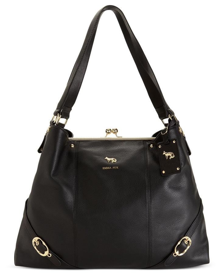 Emma Fox Handbag, Dressage Frame Shoulder Bag